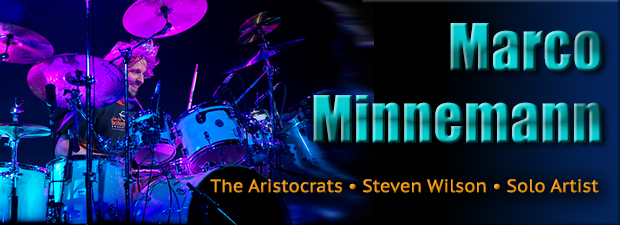 Marco Minnemann, drummer for The Aristocrats and Steven Wilson, is back with another solo record.