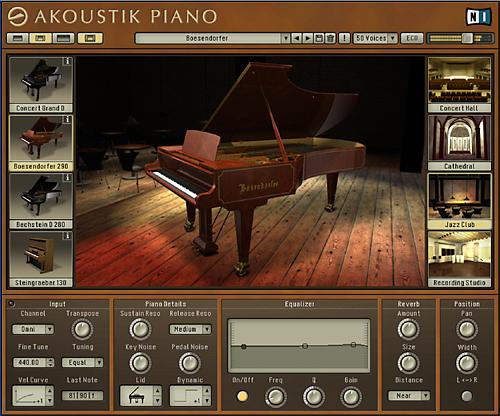 Musicplayers. Com: reviews > keyboard > native instruments akoustik.