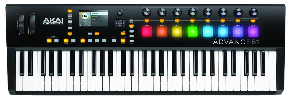 MusicPlayers com: Reviews > Keyboard > Akai Advance 61 MIDI