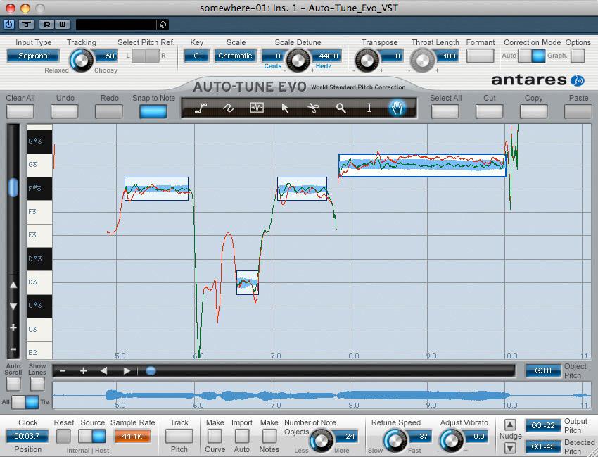 musicplayers com reviews u003e recording u003e antares auto tune evo rh musicplayers com Antares Auto Tune for Guitar Antares Autotune 5.9